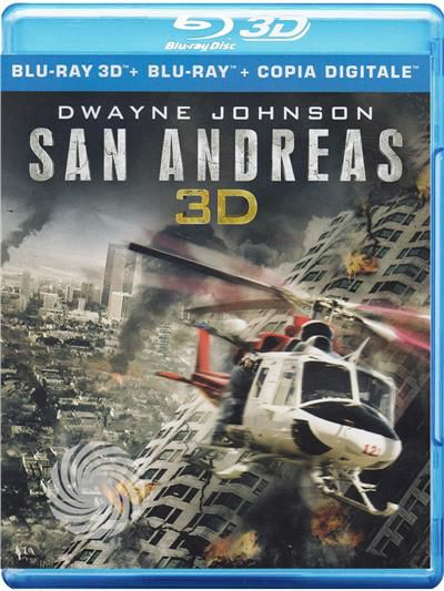 San Andreas - Blu-Ray  3D - thumb - MediaWorld.it