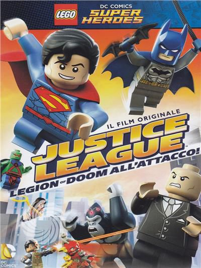Lego DC comics - Super heros - Justice league - DVD - thumb - MediaWorld.it
