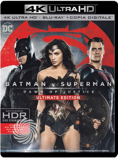 Batman V Superman - Dawn of justice - Blu-Ray  UHD - thumb - MediaWorld.it