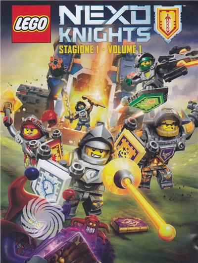 Lego - Nexo knights - DVD - Stagione 1 - thumb - MediaWorld.it