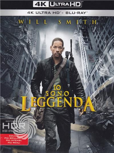 Io sono leggenda - Blu-Ray  UHD - thumb - MediaWorld.it