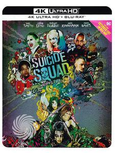 Suicide squad - Blu-Ray  UHD Steelbook - thumb - MediaWorld.it