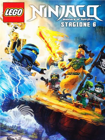 Lego Ninjago - Masters of Spinjitzu - DVD - Stagione 6 - thumb - MediaWorld.it