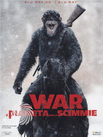 THE WAR - IL PIANETA DELLE SCIMMIE - Blu-Ray  3D - thumb - MediaWorld.it