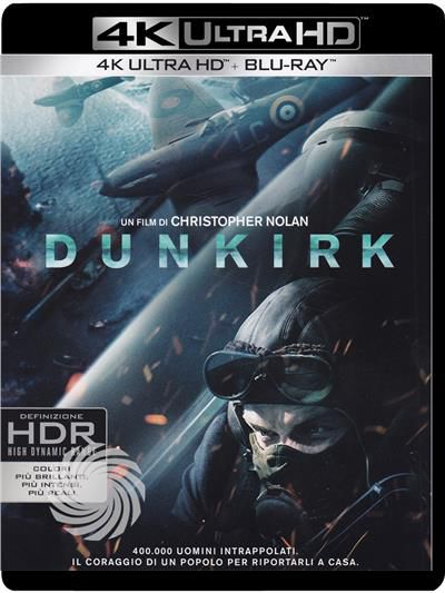 Dunkirk - Blu-Ray  UHD - thumb - MediaWorld.it