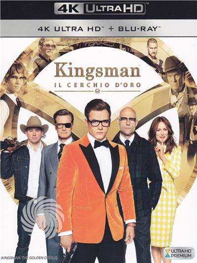 KINGSMAN - IL CERCHIO D'ORO - Blu-Ray  UHD - thumb - MediaWorld.it