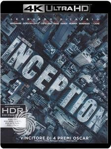 Inception - Blu-Ray  UHD - thumb - MediaWorld.it