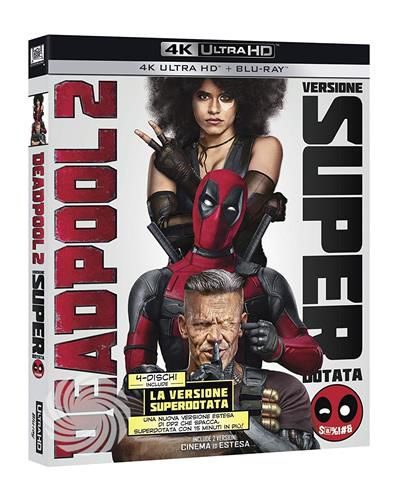 DEADPOOL 2 - Blu-Ray  UHD - thumb - MediaWorld.it
