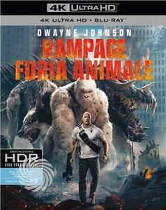 RAMPAGE - FURIA ANIMALE - Blu-Ray  UHD - MediaWorld.it