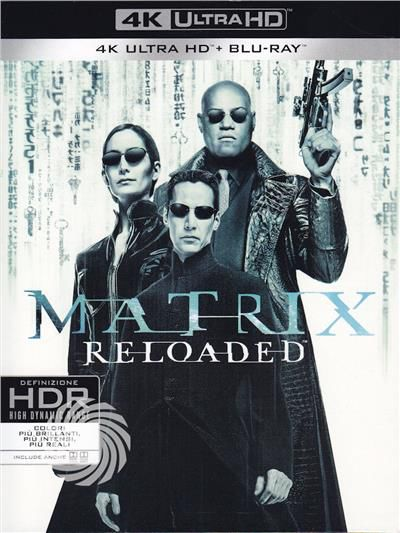 Matrix reloaded - Blu-Ray  UHD - thumb - MediaWorld.it