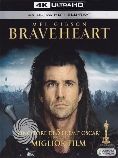 Braveheart - Cuore impavido - Blu-Ray  UHD - thumb - MediaWorld.it