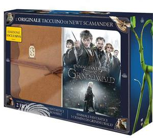 Animali fantastici e dove trovarli + Animali fantastici e i crimini di Grindelwald - DVD - thumb - MediaWorld.it