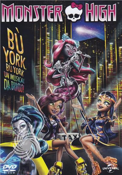 Monster high - Bu' York, Bu' York - DVD - thumb - MediaWorld.it