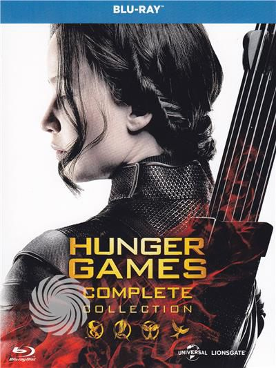 Hunger Games - Complete collection - Blu-Ray - thumb - MediaWorld.it