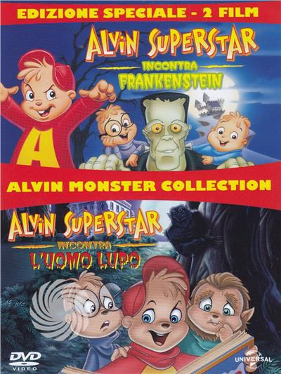 Alvin Monsters Collection - DVD - thumb - MediaWorld.it