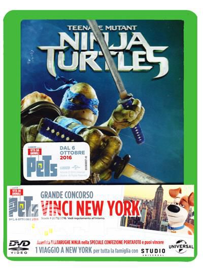 Tartarughe ninja - DVD - thumb - MediaWorld.it