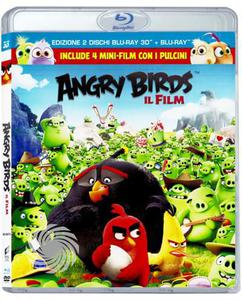 Angry birds - Il film - Blu-Ray  3D - MediaWorld.it