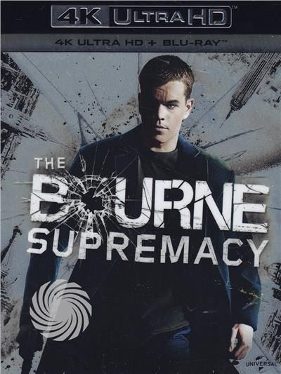 The Bourne supremacy - Blu-Ray  UHD - thumb - MediaWorld.it