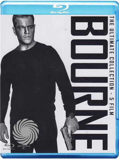 Bourne - The ultimate collection - Blu-Ray - thumb - MediaWorld.it