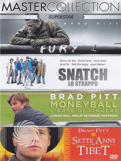 Superstar master collection - Brad Pitt - DVD - thumb - MediaWorld.it