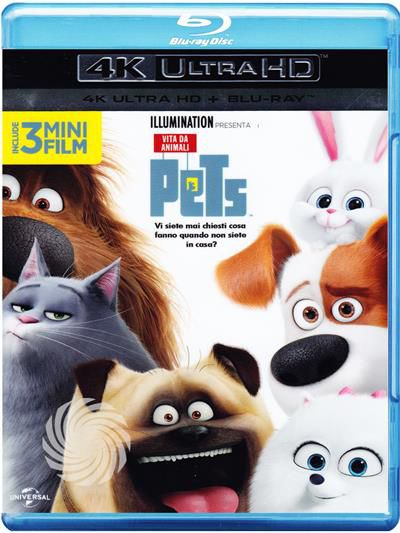 Pets - Vita da animali - Blu-Ray  UHD - thumb - MediaWorld.it