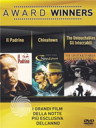 Award Winners - Il padrino + Chinatown + Gli Intoccabili - The Untouchables - DVD - thumb - MediaWorld.it