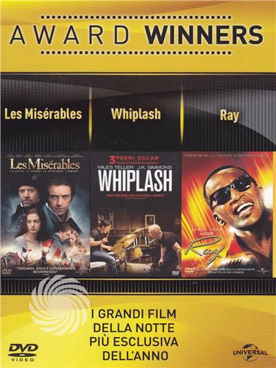 Award Winners - Les Misérables + Whiplash + Ray - DVD - thumb - MediaWorld.it