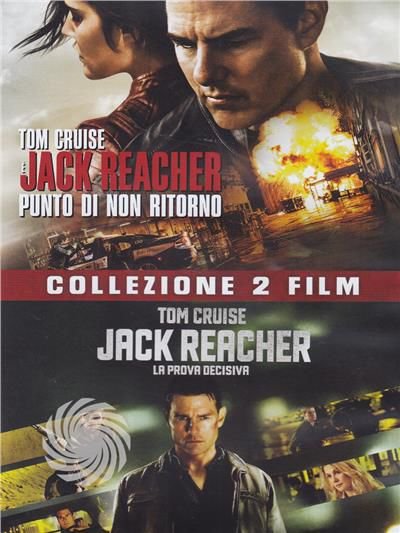 Jack Reacher collection 1 & 2 - DVD - thumb - MediaWorld.it