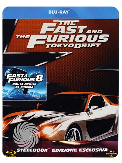 The fast and the furious - Tokyo drift - Blu-Ray Steelbook - thumb - MediaWorld.it