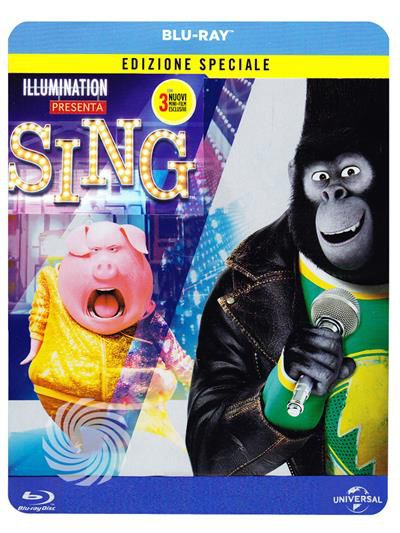 Sing - Blu-Ray Steelbook - thumb - MediaWorld.it
