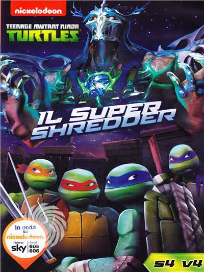 Teenage Mutant Ninja Turtles - Super Shreder - DVD - Stagione 4 - thumb - MediaWorld.it