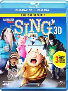 Blu-Ray - Animazione Sing - Blu-Ray  3D su Mediaworld.it