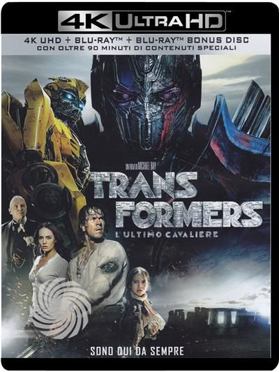 TRANSFORMERS - L'ULTIMO CAVALIERE - Blu-Ray  UHD - thumb - MediaWorld.it