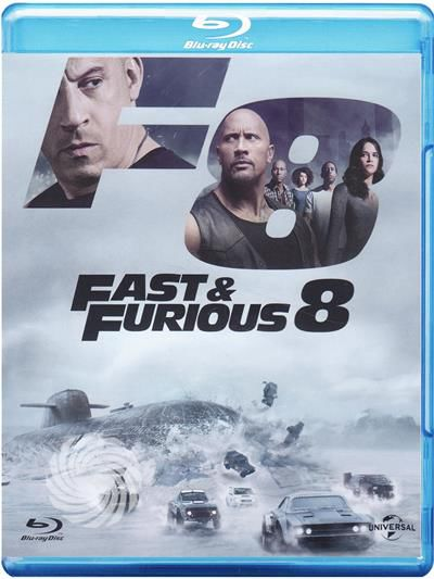 fast furious 8 blu ray. Black Bedroom Furniture Sets. Home Design Ideas