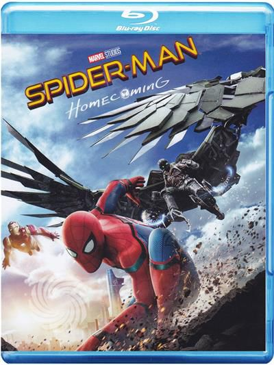 SPIDER-MAN - HOMECOMING - Blu-Ray - thumb - MediaWorld.it