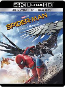 SPIDER-MAN - HOMECOMING - Blu-Ray  UHD - thumb - MediaWorld.it
