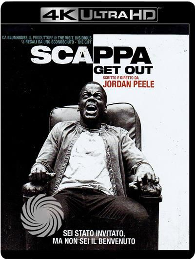 SCAPPA - GET OUT - Blu-Ray  UHD - thumb - MediaWorld.it