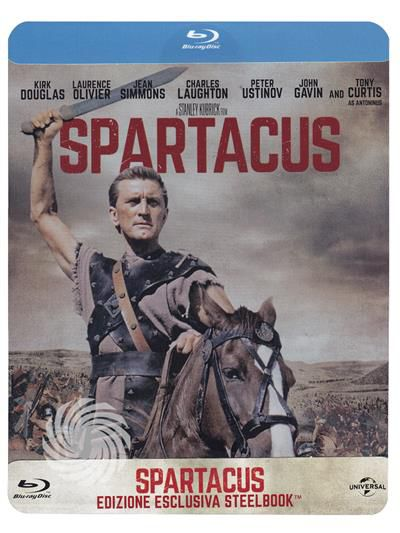 Spartacus - Blu-Ray Steelbook - thumb - MediaWorld.it