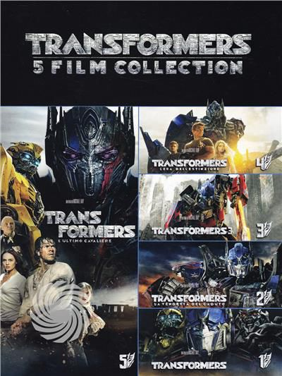 TRANSFORMERS - COLLEZIONE COMPLETA - DVD - thumb - MediaWorld.it