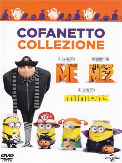 Minions 3 movie collection Halloween - DVD - thumb - MediaWorld.it