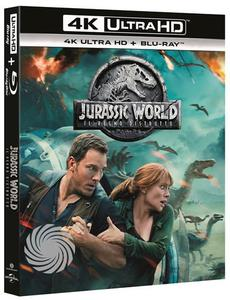 Jurassic world - Il regno distrutto - Blu-Ray  UHD - MediaWorld.it
