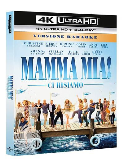 MAMMA MIA! - CI RISIAMO - Blu-Ray  UHD - thumb - MediaWorld.it