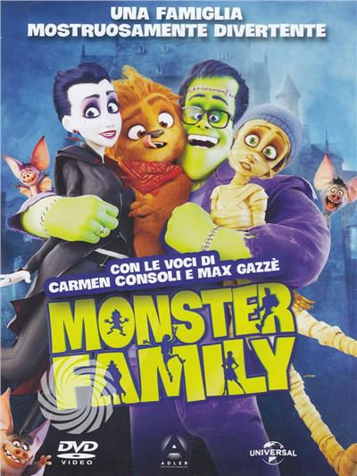 MONSTER FAMILY - DVD - thumb - MediaWorld.it