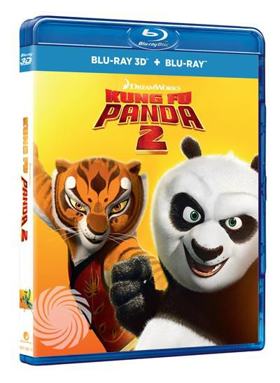 Kung Fu Panda 2 - Blu-Ray  3D - thumb - MediaWorld.it