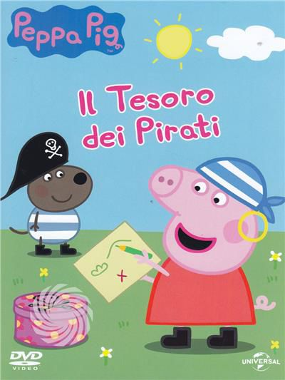 PEPPA PIG - IL TESORO DEI PIRATI - DVD - thumb - MediaWorld.it