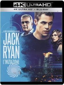 Jack Ryan - L'iniziazione - Blu-Ray  UHD - MediaWorld.it