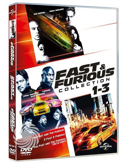 Fast & furious collection 1-3 - DVD - thumb - MediaWorld.it