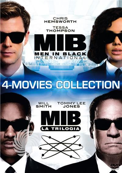 MIB - Men in black collection 1-4 - DVD - thumb - MediaWorld.it