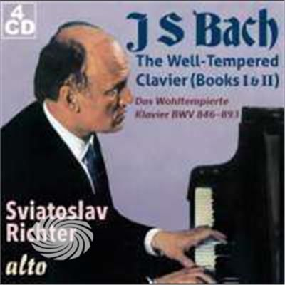 Bach / Richter,Sviatoslav - Well-Tempered Clavier (Books I & Ii Complete) - CD - thumb - MediaWorld.it