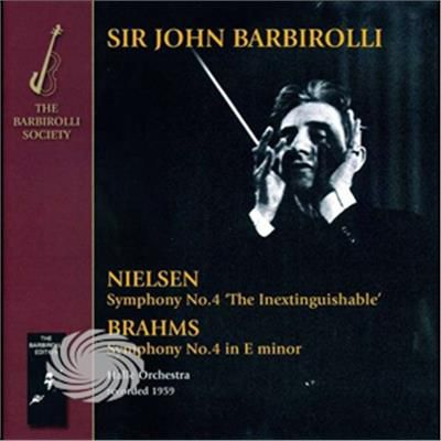 Barbirolli,John Halle Orchestra - Brahms: Symphony No. 4 Neilsen: Symphony No. 4 - CD - thumb - MediaWorld.it